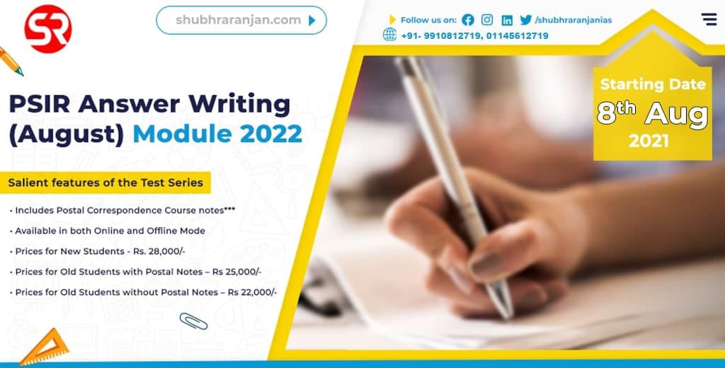 PSIR Answer Writing  (6)